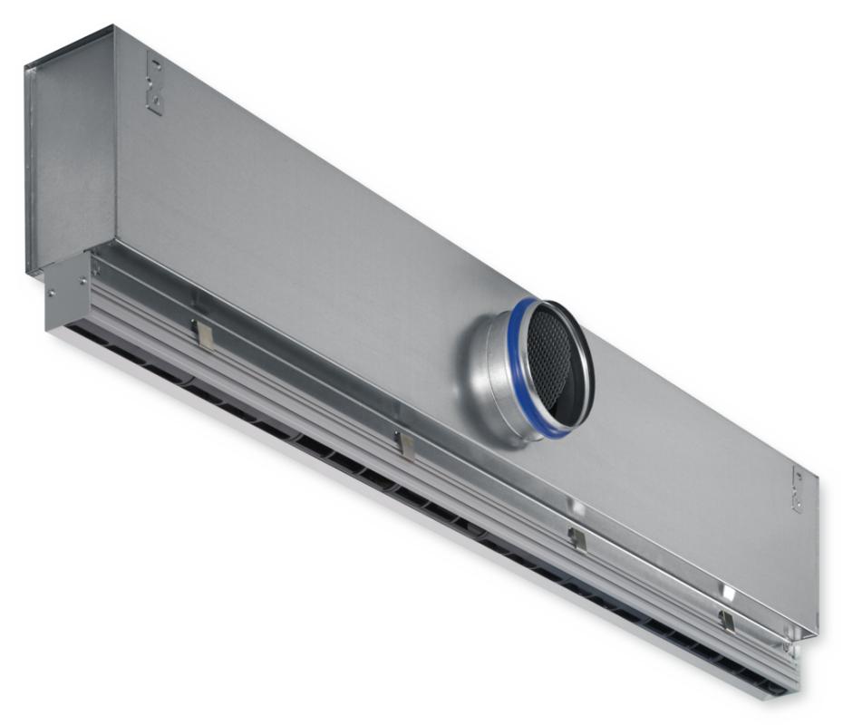 Купить Щелевой диффузор со статической камерой VSD35-2-AS-M-L/1050x123/