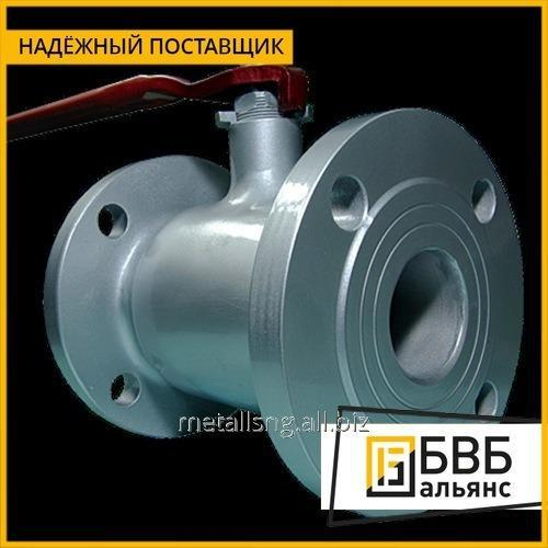 Buy The crane of steel spherical LD of Du of 250 Ru 16 for gas a flange with a reducer