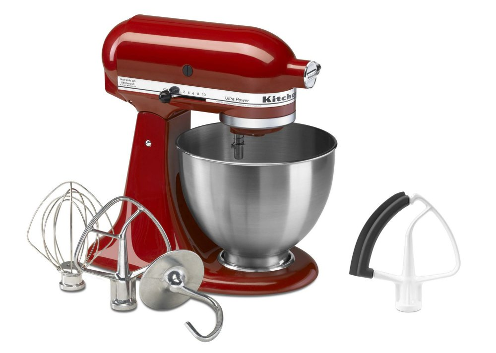 The planetary Kitchen Aid Artisan mixer with a bowl 4,8l