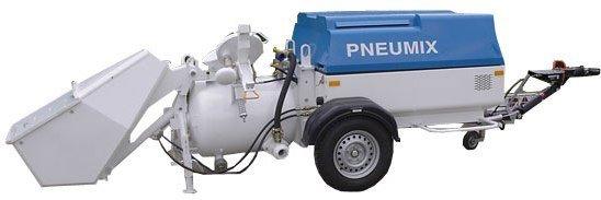 Купить Пневматический бетононасос серии Pneumix, PX 200 EK