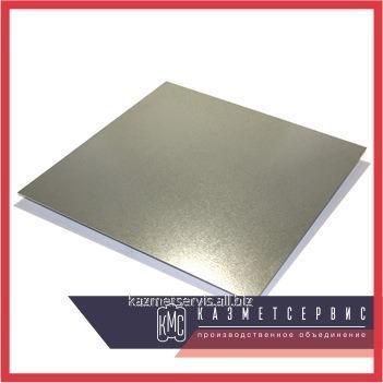 Leaf of steel 4 mm XH60BT EI868; VZh98