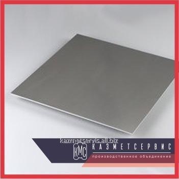 Вольфрамовый лист 4х100х300 ВА