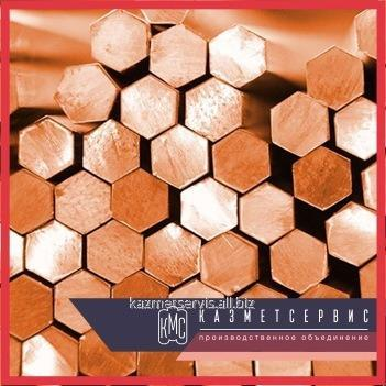 Hexagon copper M3 of DShGNT