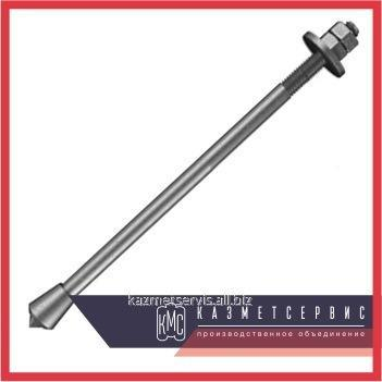 Anchor bolt with the conic end