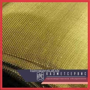 Grid woven brass 0,355x0,16 L80