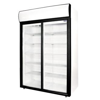 Шкаф холодильный DM110Sd-S, Шкафы холодильные торговые.