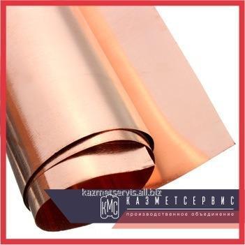 Медно-никелевая фольга МНМц40-1,5 ДПРНТ Константан