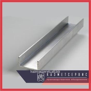 Алюминиевый швеллер 100х50х5 АМГ5