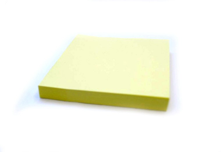 scratch paper with sticky edge dolphin sticker yellow neon