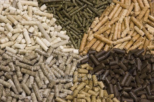Compound feeds for KRS, horses, pigs, birds