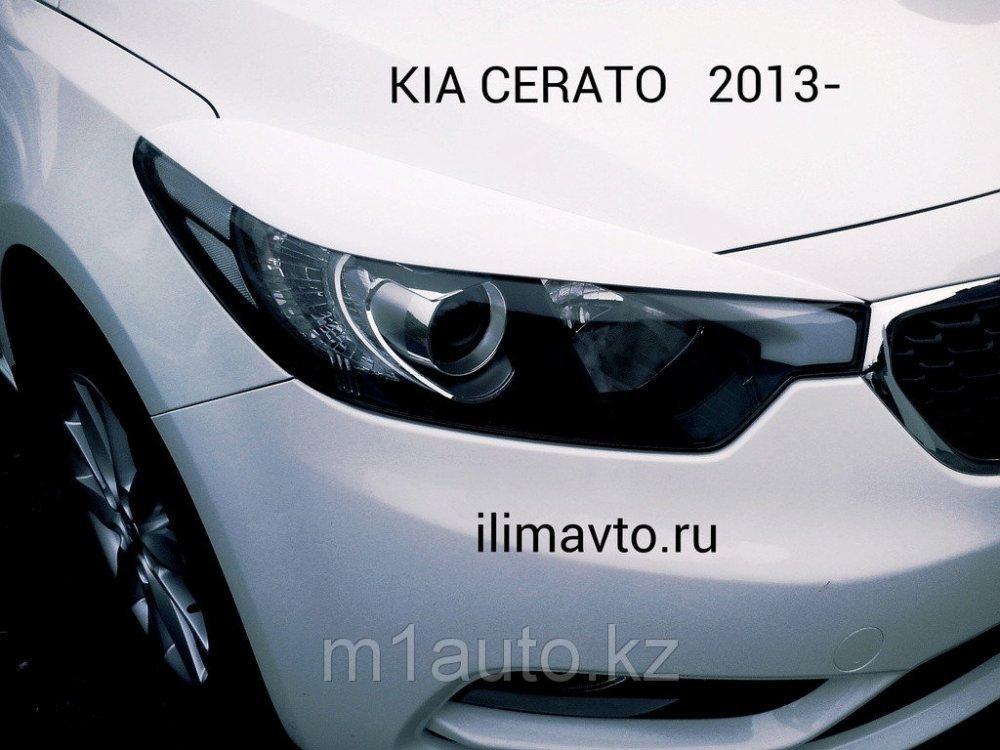 Eyelashes On Headlights On Kia Ceratokia Of Tserato 2013 Buy In Astana