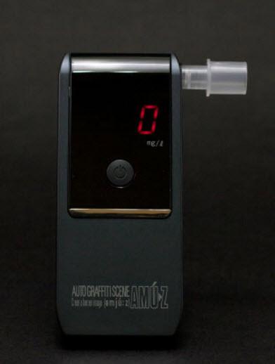 Электрохимический мини-алкотестер AC-016