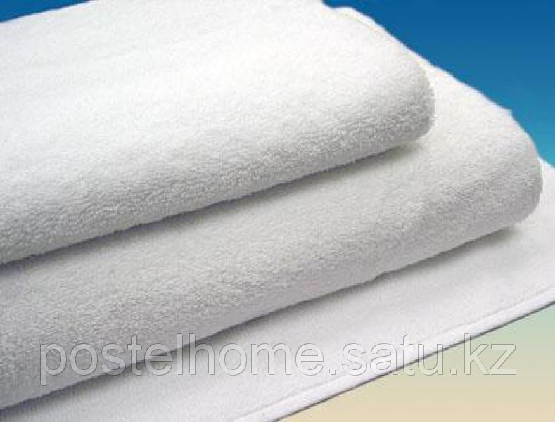 Махровое полотенце 70*140 белое