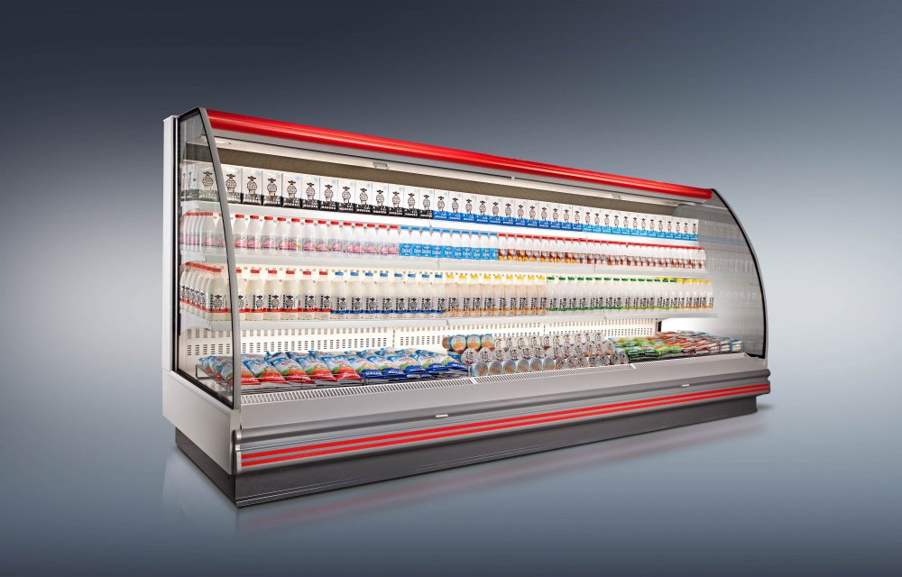 Купить Холодильная пристенная витрина Барселона