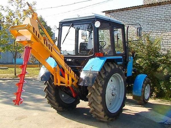 Купить Щелерез на базе трактора МТЗ Беларус