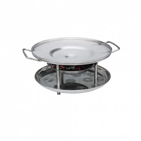 Купить Садж для шашлыка и национальных блюд арт. 11305 (372х300х166мм, Д=300мм)