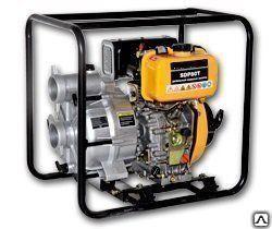 Купить Мотопомпа FIRMAN SGP100H для перекачки слабозагрязненной воды