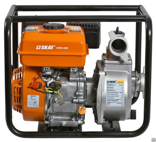 Buy Motor-pump petrol SKAT MPB-600