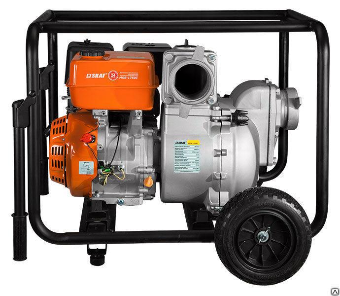 Купить Мотопомпа бензиновая супергрязевая (шламовая) МПБ-1750С
