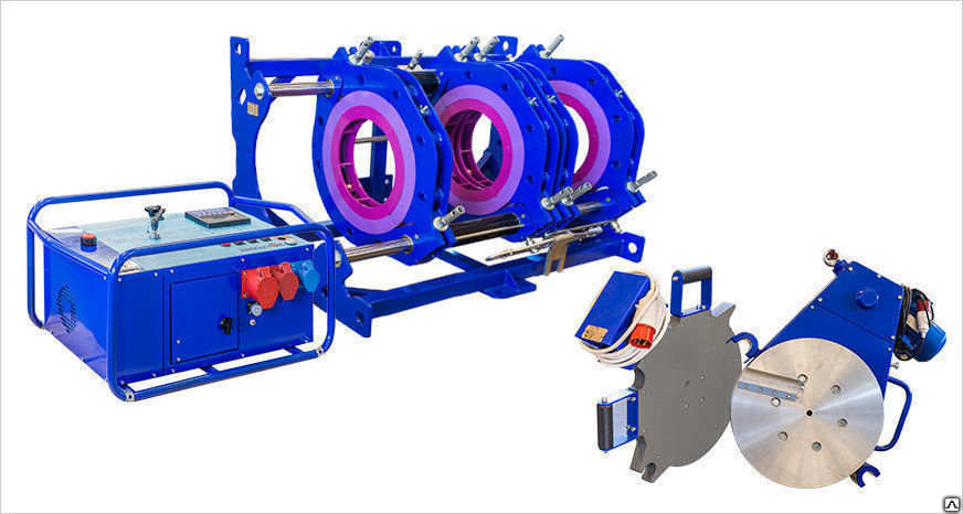 Buy Welding machines for butt welding of the polyethylene pipes SSPT-400