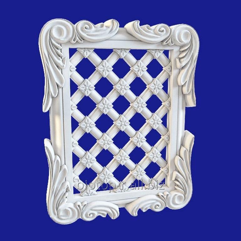Купить Декоративные Решетки из гипса, Гипсовые декоративные решетки