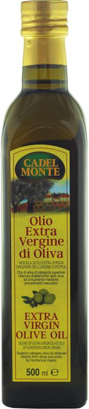 Купить Масло оливковое CADELMONTE Extra vergine 500мл
