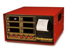 Купить Автомобильный 4-х компонентный газоанализатор Инфракар М-3Т.02