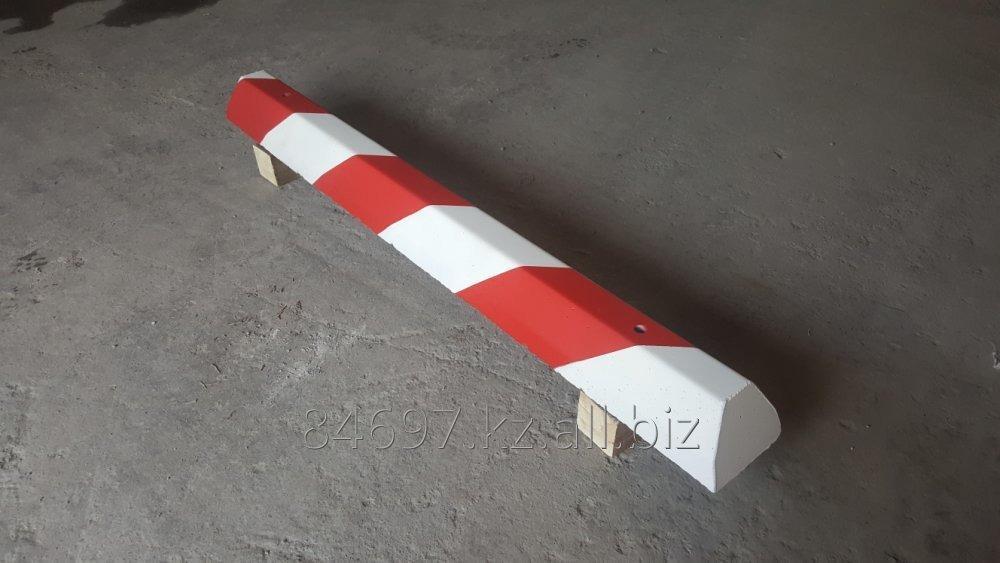 Колесоотбойник бетонный парковочный