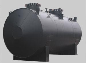 Резервуар стальной горизонтальный
