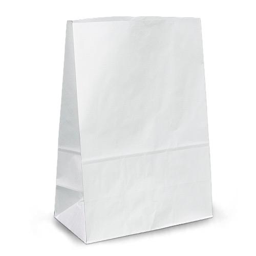Papierbeutel (weiße Kraft) 15,5 * 8,5 * 36 80 Dichte