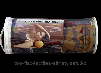 Греческая подушка Валик V2 15х40 флис в футляре (ортопедическая)