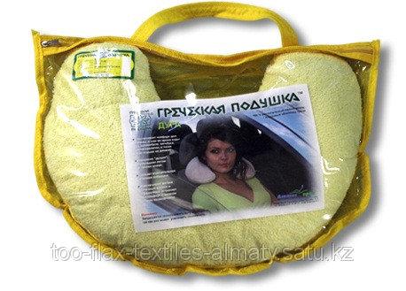 Греческая подушка Дуга Д1 18х35 велсофт в футляре (ортопедическая)