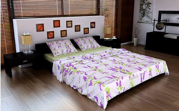 Купить Комплект постельного белья Cерия ЛАВАНДА