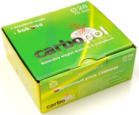 Buy Natural charcoal for CARBOPOL Kokosa hookah