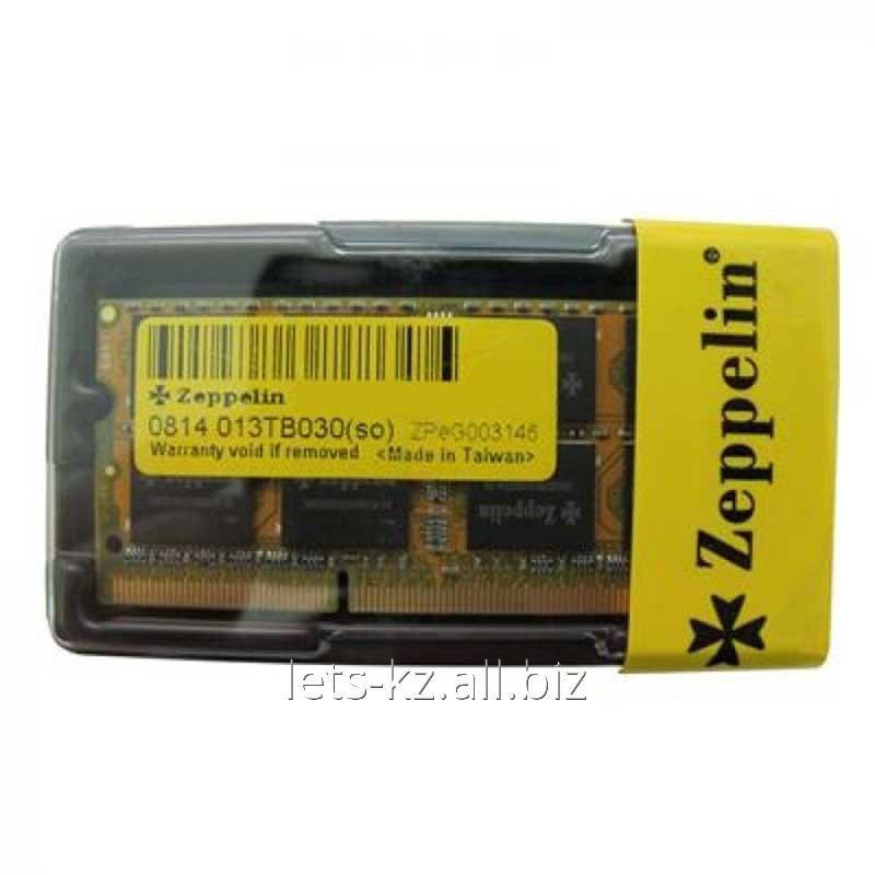 Купить Оперативная память Zeppelin 2Gb SODIMM 800 MHz (Art:904415494)