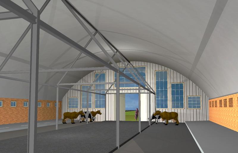 Сооружения мясо-молочного производства