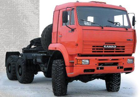 Купить Тягачи седельные, КАМАЗ-65221