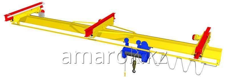 Кран  мостовой подвесной двух пролетный 2т-10т