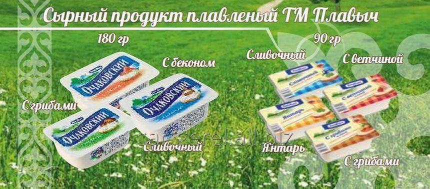 Купить Плавленый продукт с сыром 90 гр. Янтарь/40 шт.