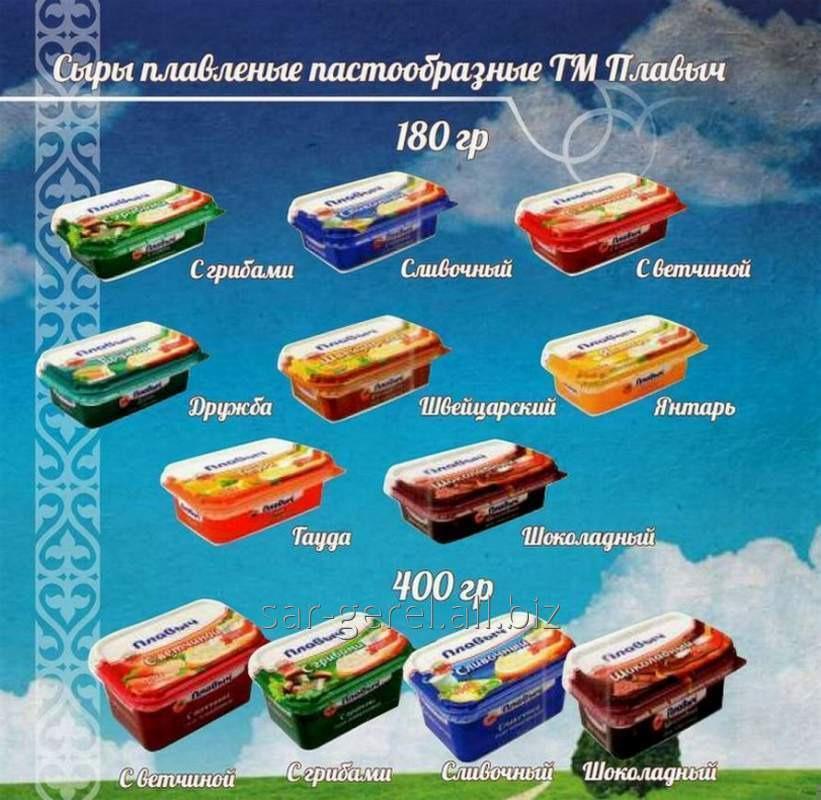 Купить Плавленый сыр 180 гр. Янтарь