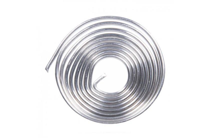 Купить Припой ПОС-61 с канифолью 1м d=2мм спираль
