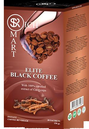 Кофе Black Coffee Cordyceps