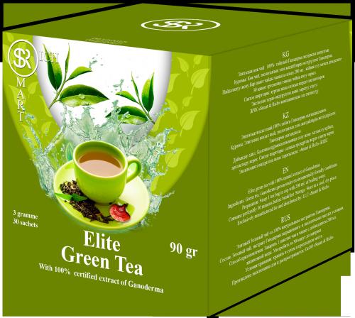 Чай Ganoderma Green Tea