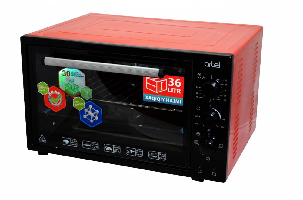 Электрическая печь Artel MD 3612 Econom (красный)