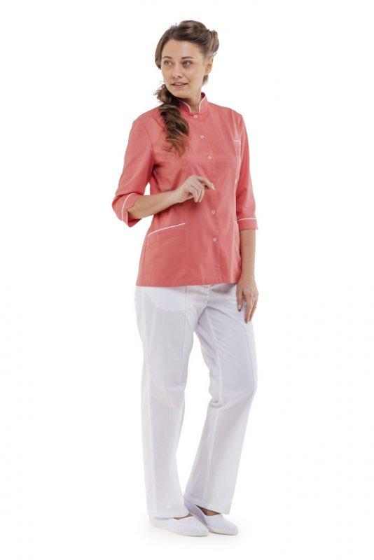 Купить Куртка-блуза женская ВАНДА коралловая