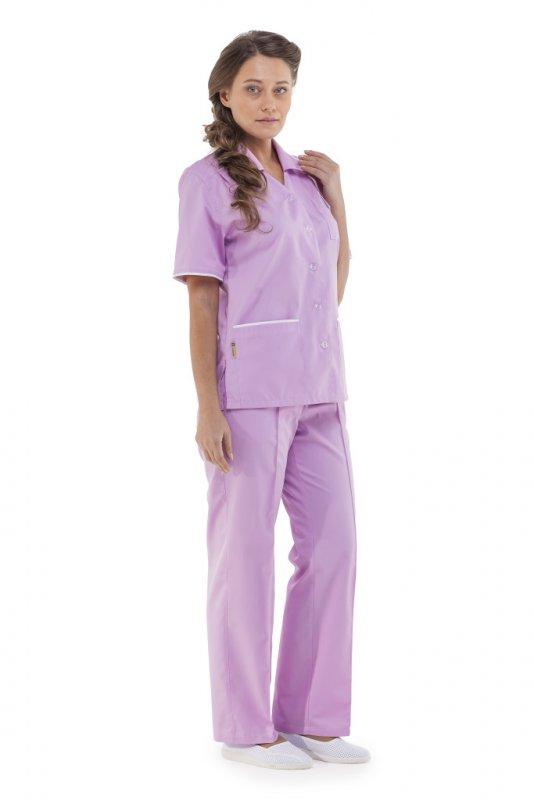 Купить Куртка-блуза женская ЭРИКА розовая