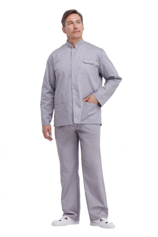 Купить Куртка мужская КРОКУС 1 серая