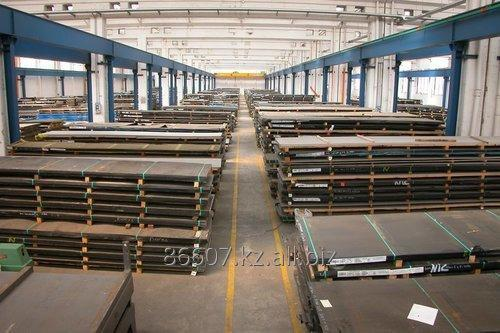 Leaf of steel wearproof Dillidur450 10 mm