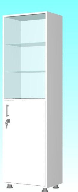 Шкаф для инструментов и медикаментов одностворчатый