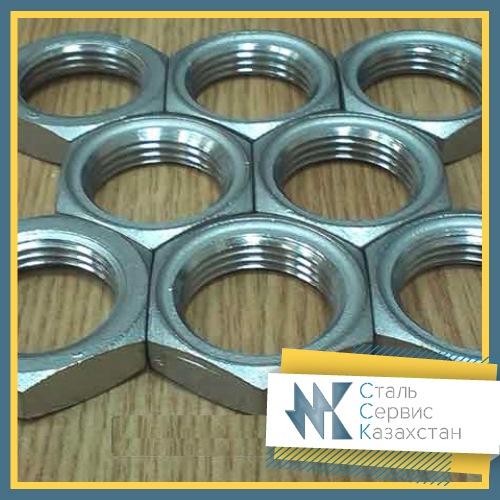 Купить Контргайка стальная 40 мм ГОСТ 8968-75 оцинкованная